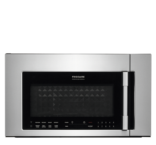 Frigidaire Professional 1.8 Cu. Ft. 2-In-1 Over-The-Range Convection Microwave FPBM3077RF