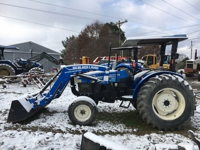New Holland Workmaster 75 2wd W Front End Loader