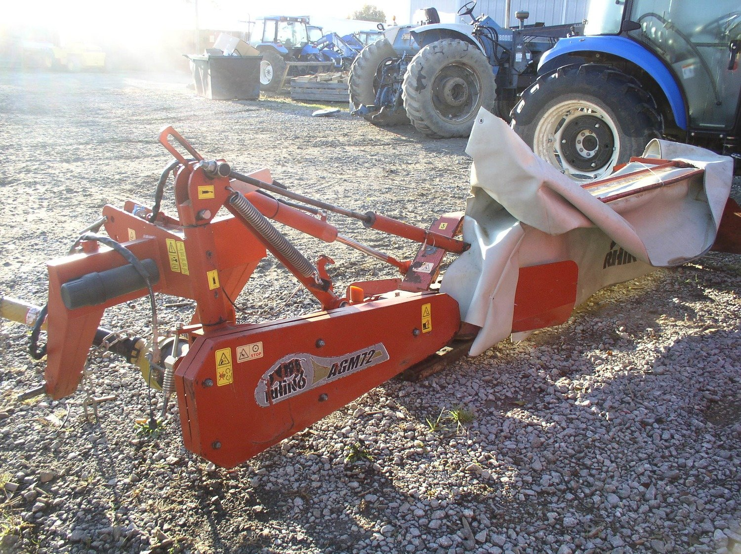 Rhino Ag Agm72 Mounted Discmower