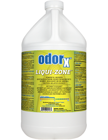 Odorx Liqui Zone Gl Cleaning And Restoration Supplies
