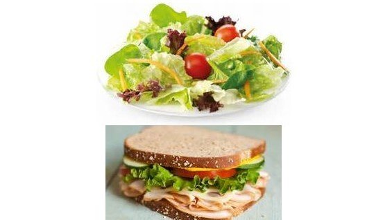 Teacher Lunches - Salads and Sandwiches - Order by 10am 00004