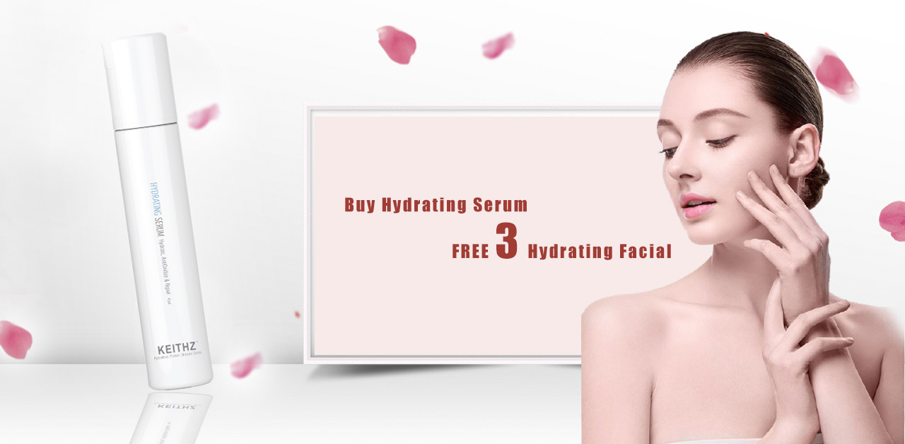 Buy Hydrating Serum & get 3 sessions of Hydrating Facial for FREE!