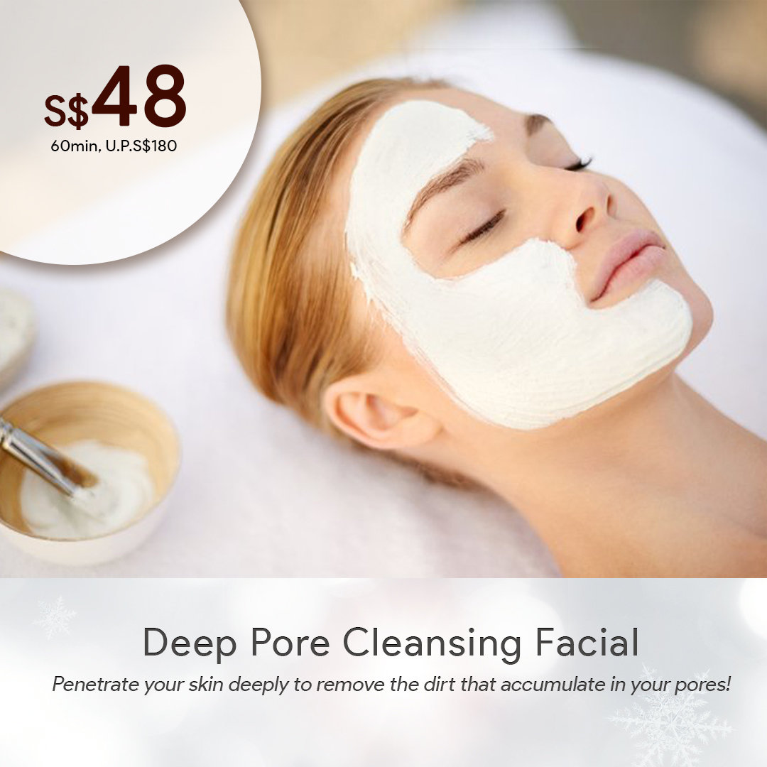 Deep Pore Cleansing Facial First Trial 0008