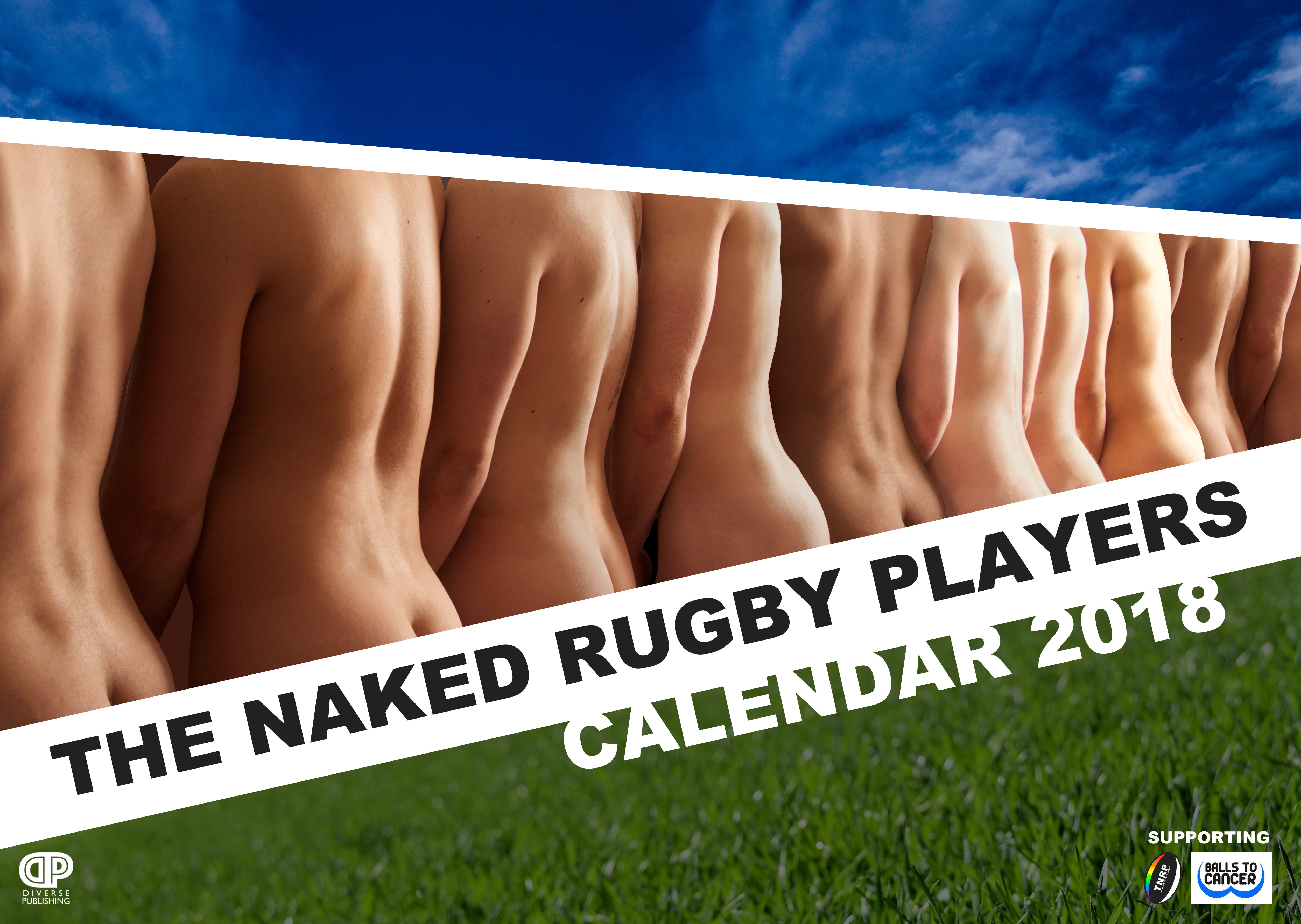 The Naked Rugby Players Calendar 2018 TNRPC18