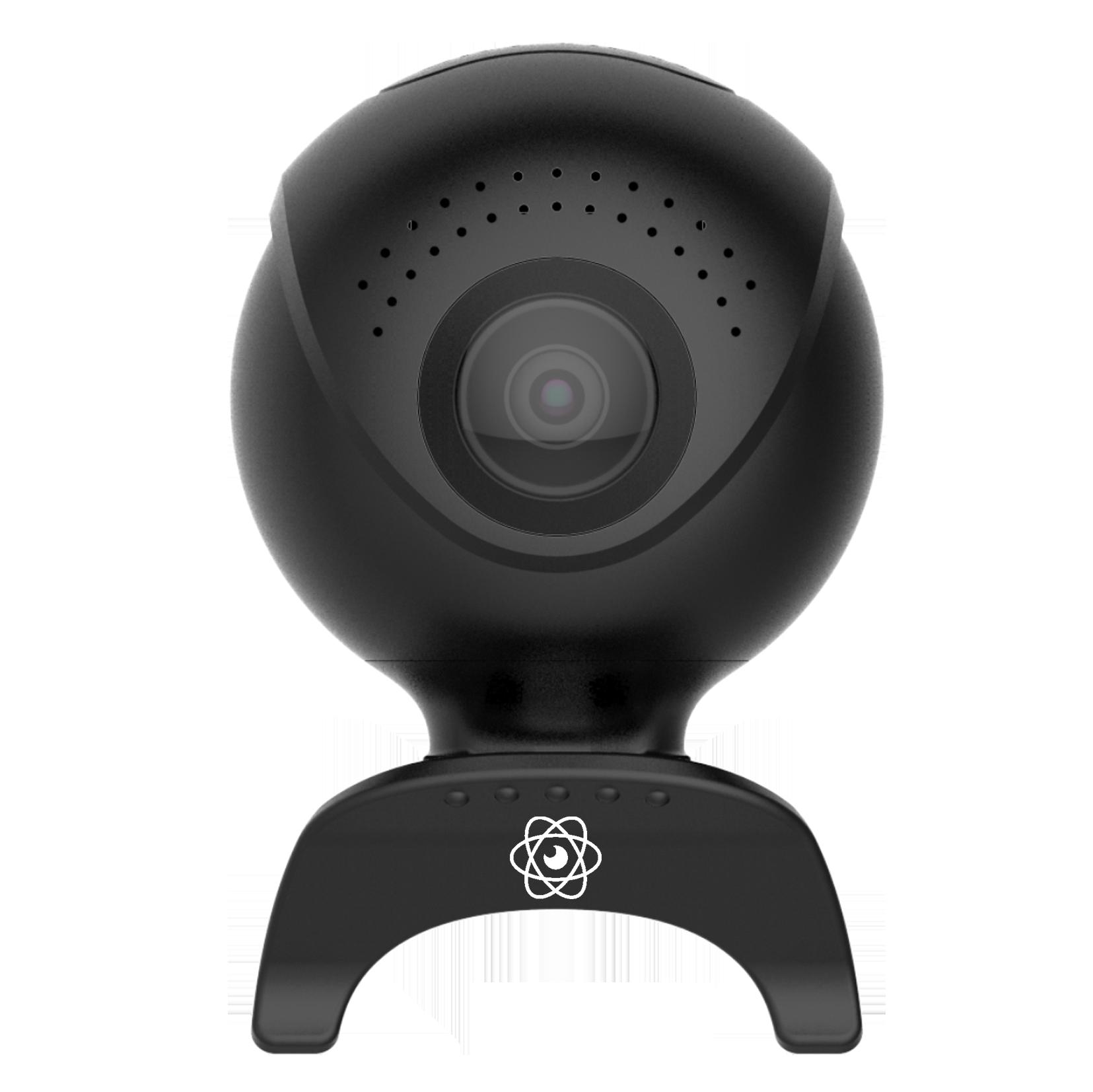 Mini caméra 360° 2 objectifs pour smartphone - ASTRO 360 - noire Qantik - ASTRO 360