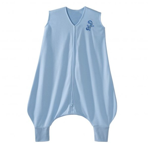 SleepSack Early Walker Lightweight Knit Blue Gecko
