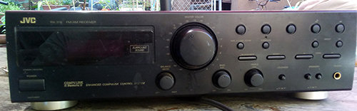 JVC Stereo Tuner RX-318 00000