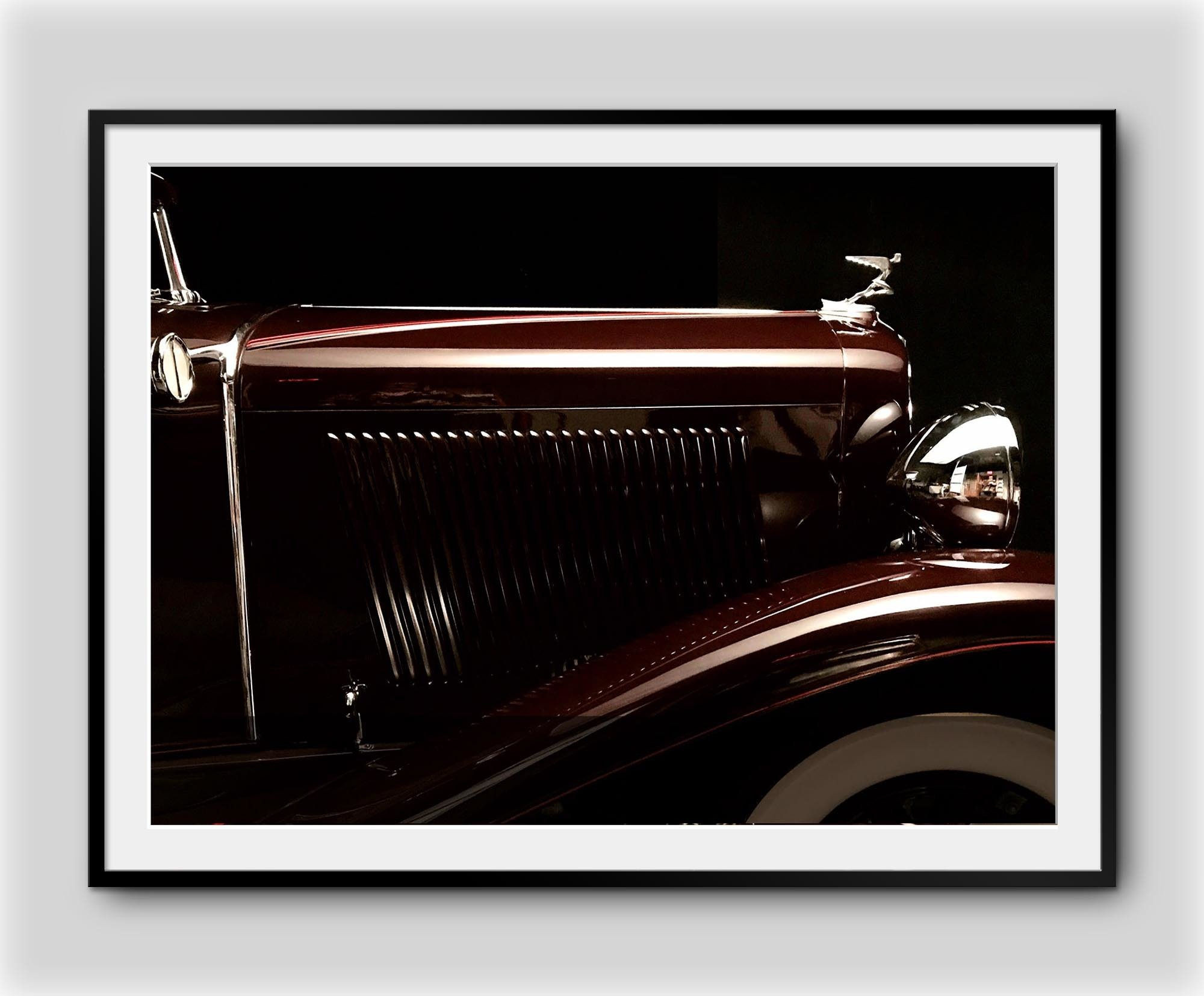 Motorology DesignDriven Series 1931 Auburn 1C Framed Print 18 x 24 M0262FP0003