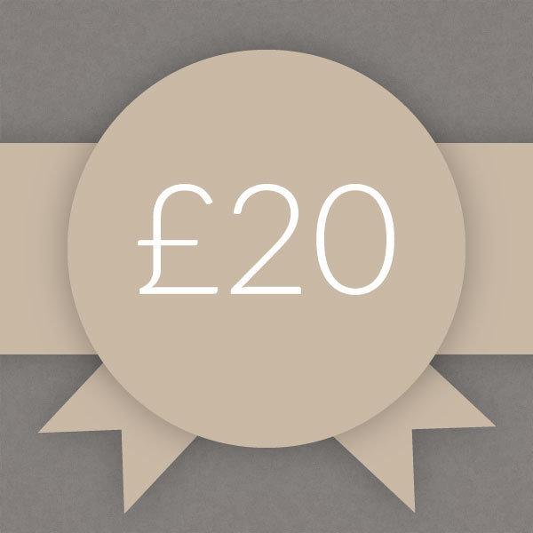 Gift Voucher £20 0002