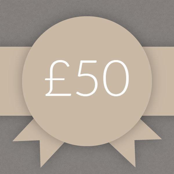 Gift Voucher £50 0005