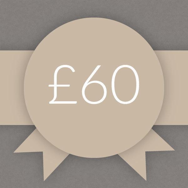 Gift Voucher £60 0006