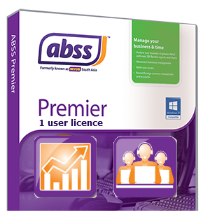 ABSS Premier single user Upgrade & Support options MYPR-1-SU