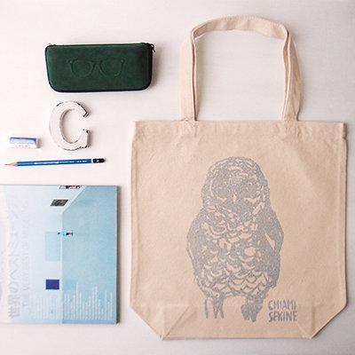 Owl Bag - Natural