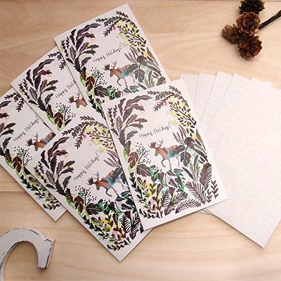 Moose Holiday Card Set (Set of 5) 00008