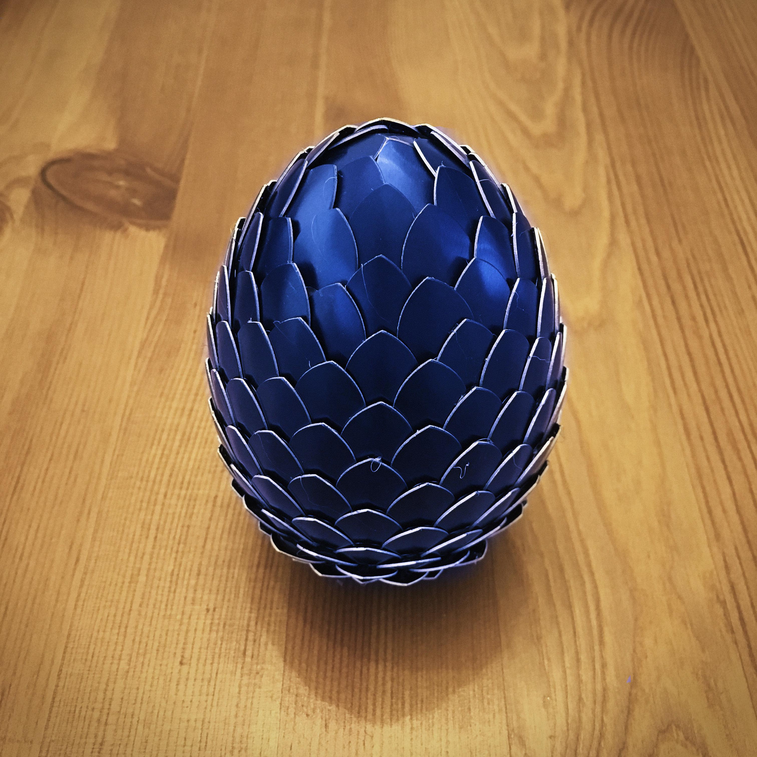 Dragon Egg - Blue DE003