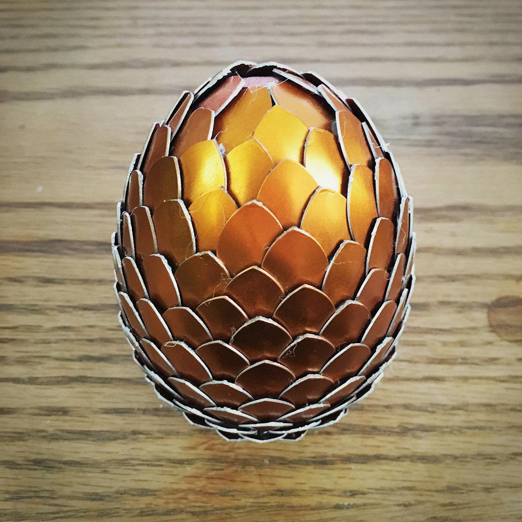 Dragon Egg - Orange DE006