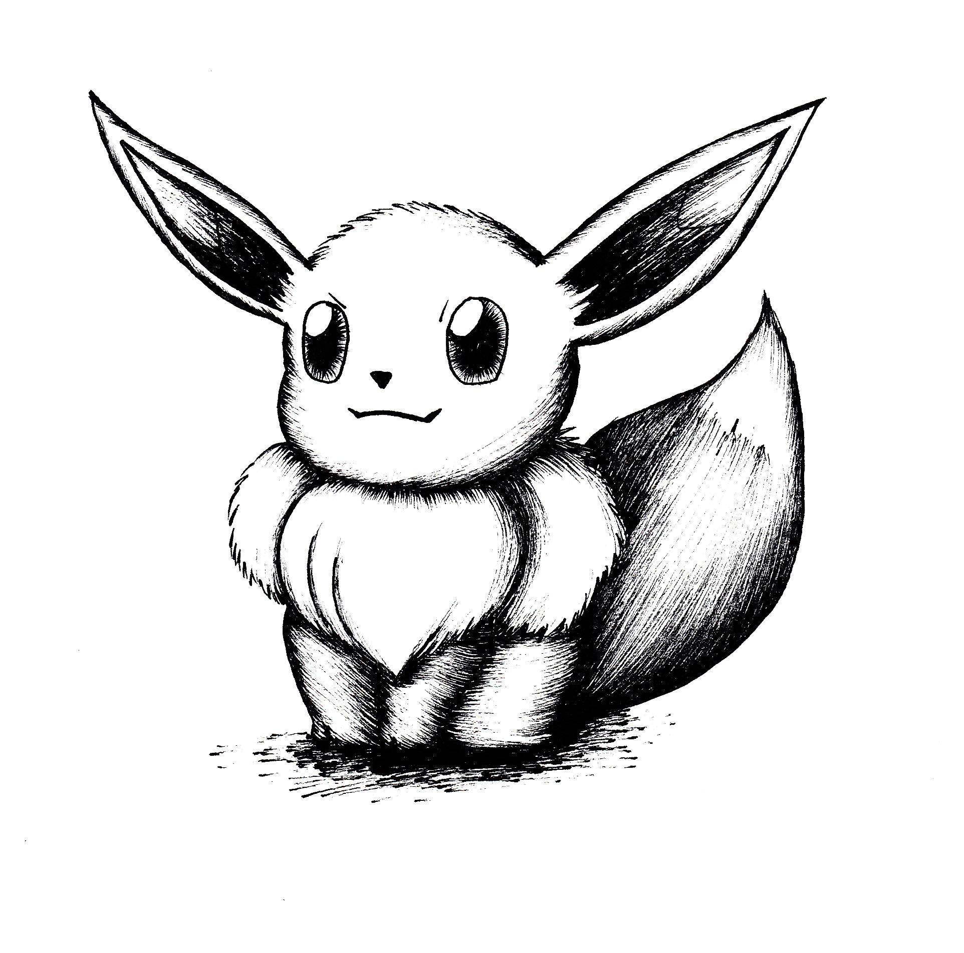 Evee drawing Draw013