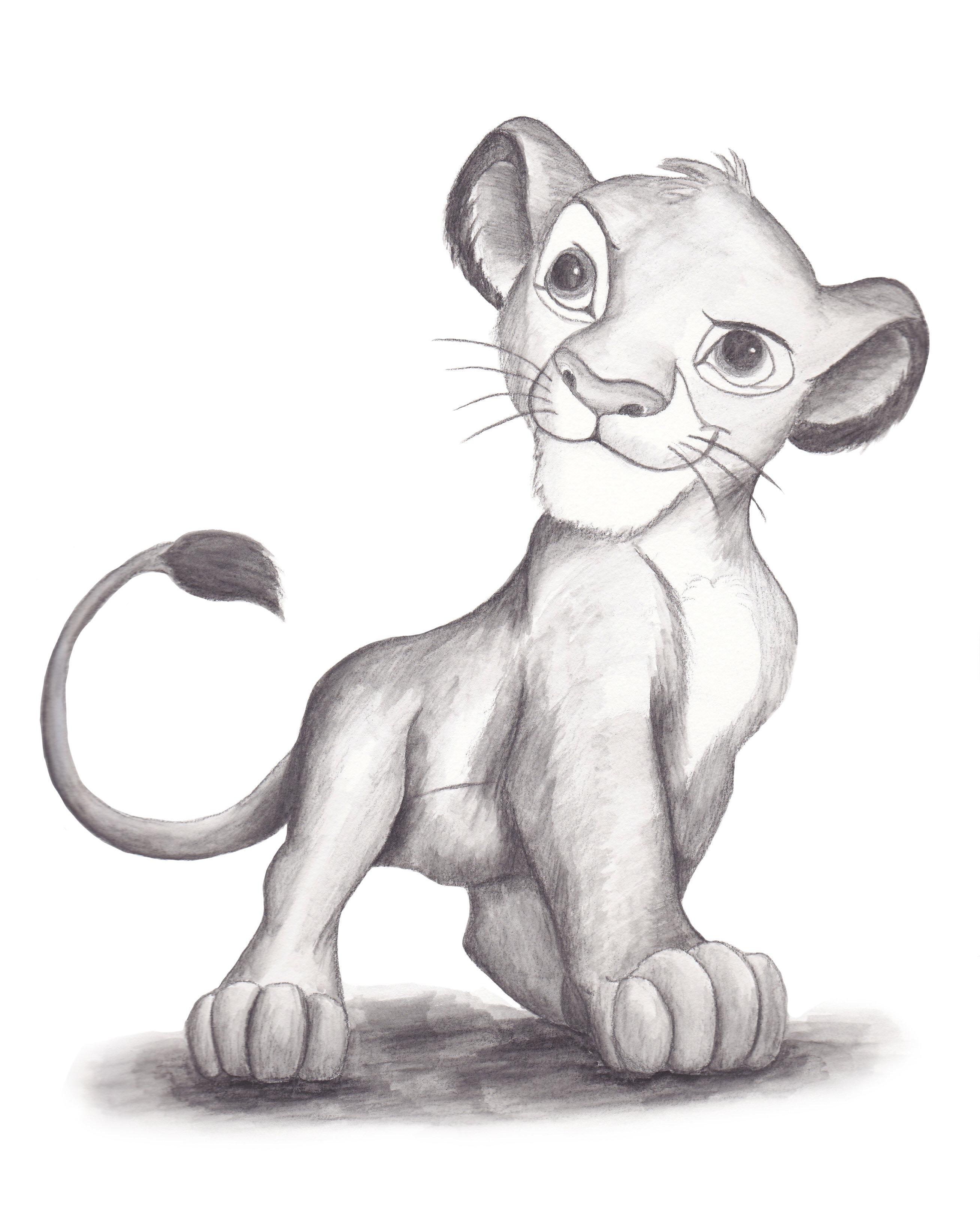 Cub drawing Draw039