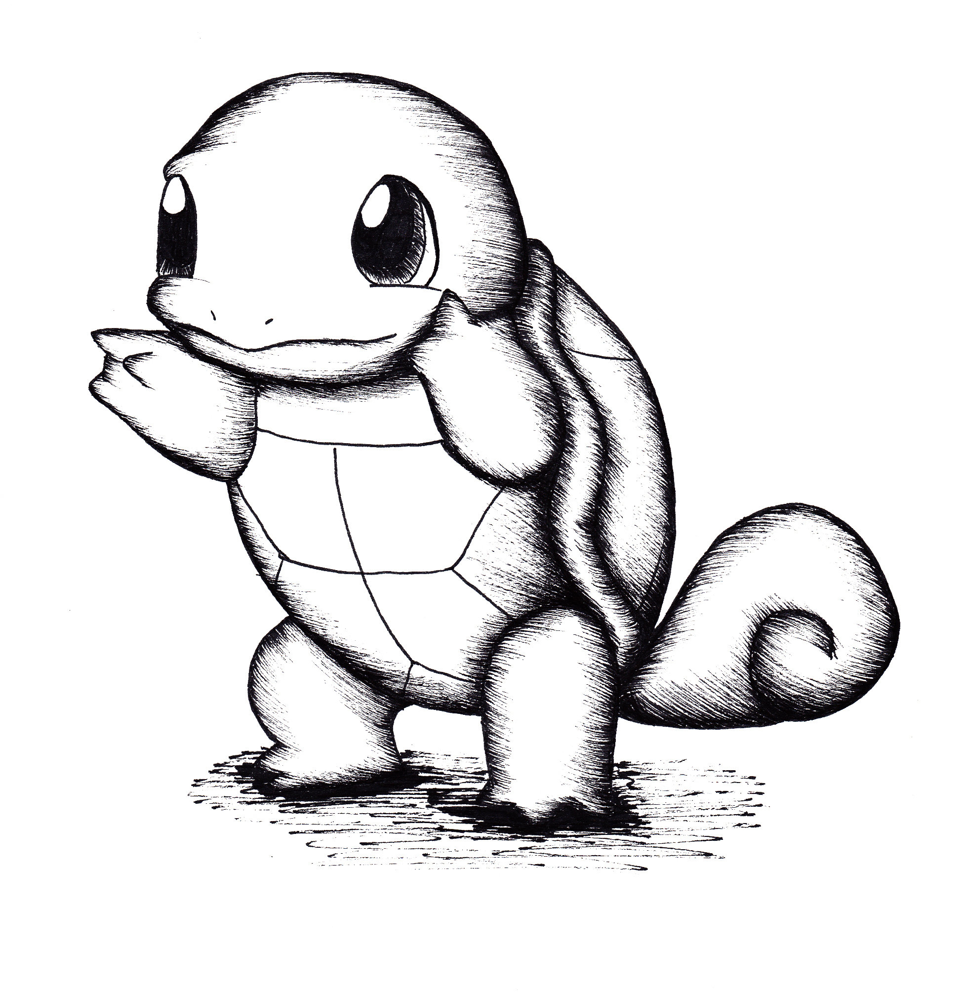 Squirtle drawing Draw043