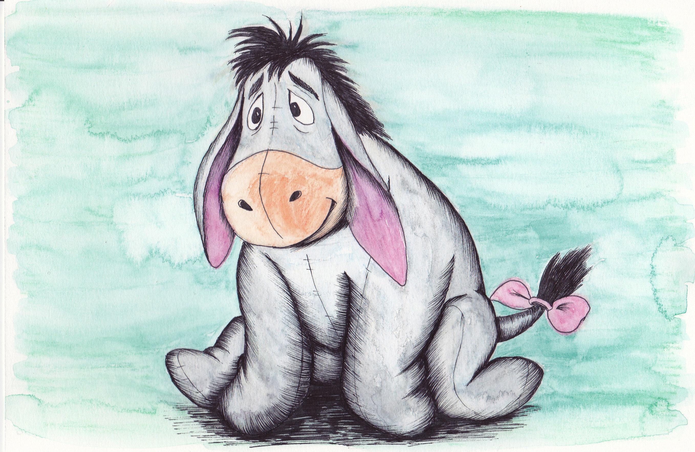 Donkey painting Paint002