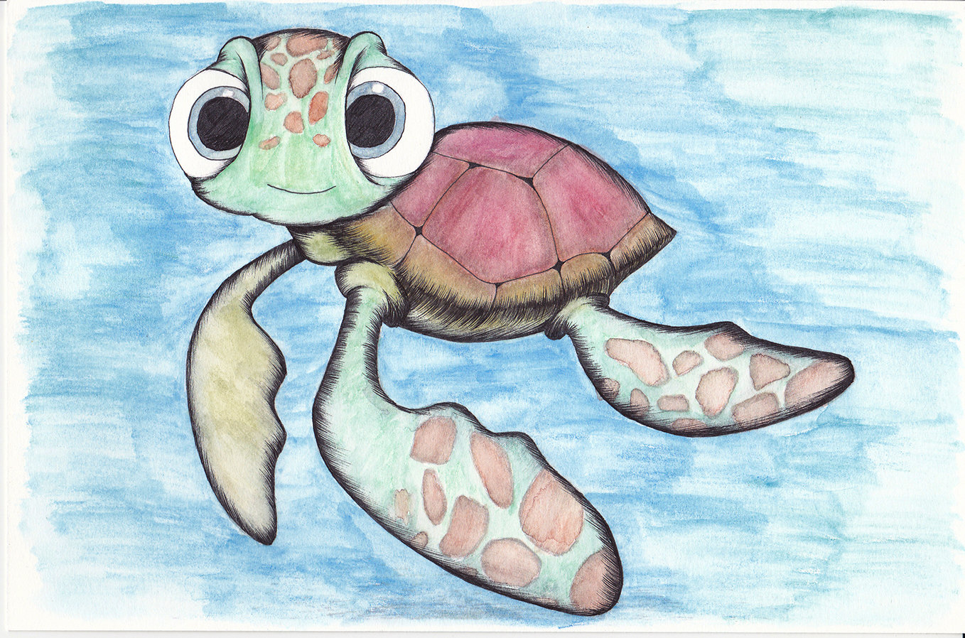 Turtle painting Paint004