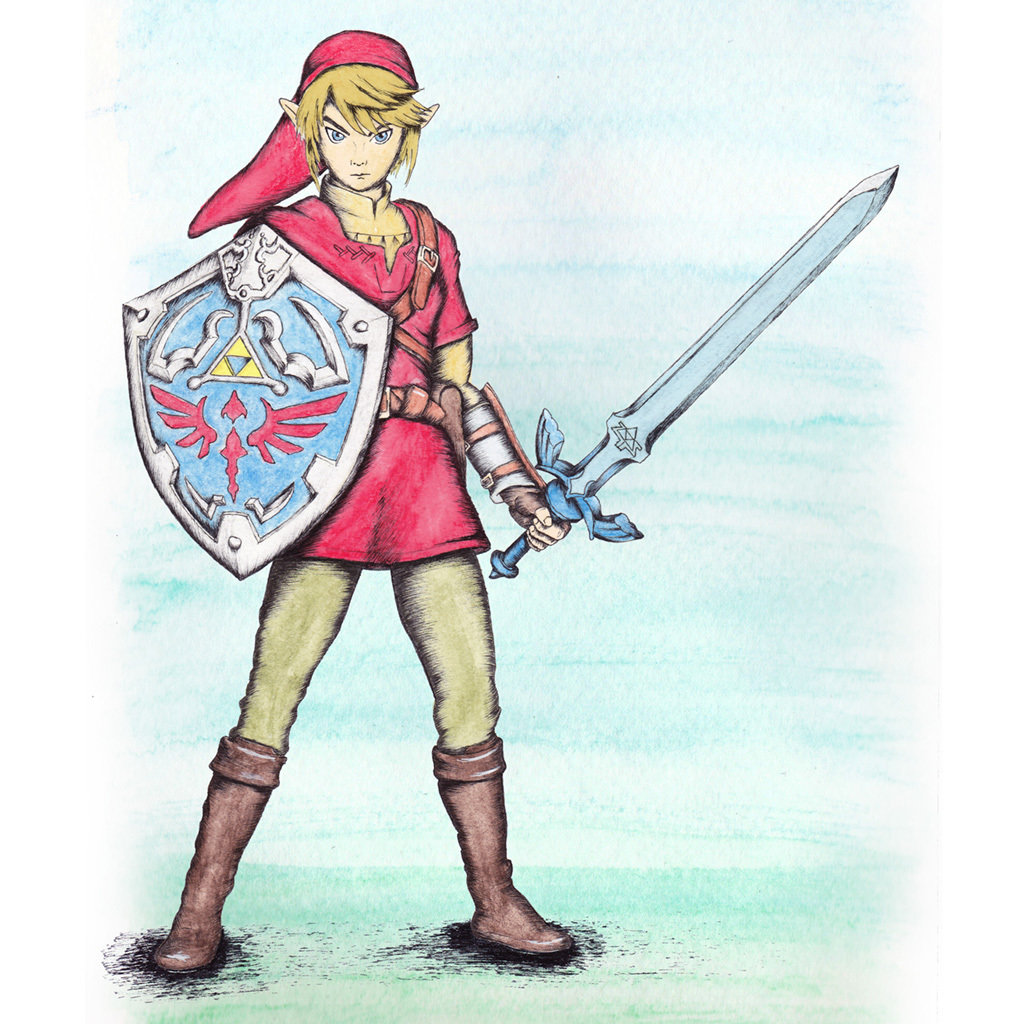Link painting Paint008