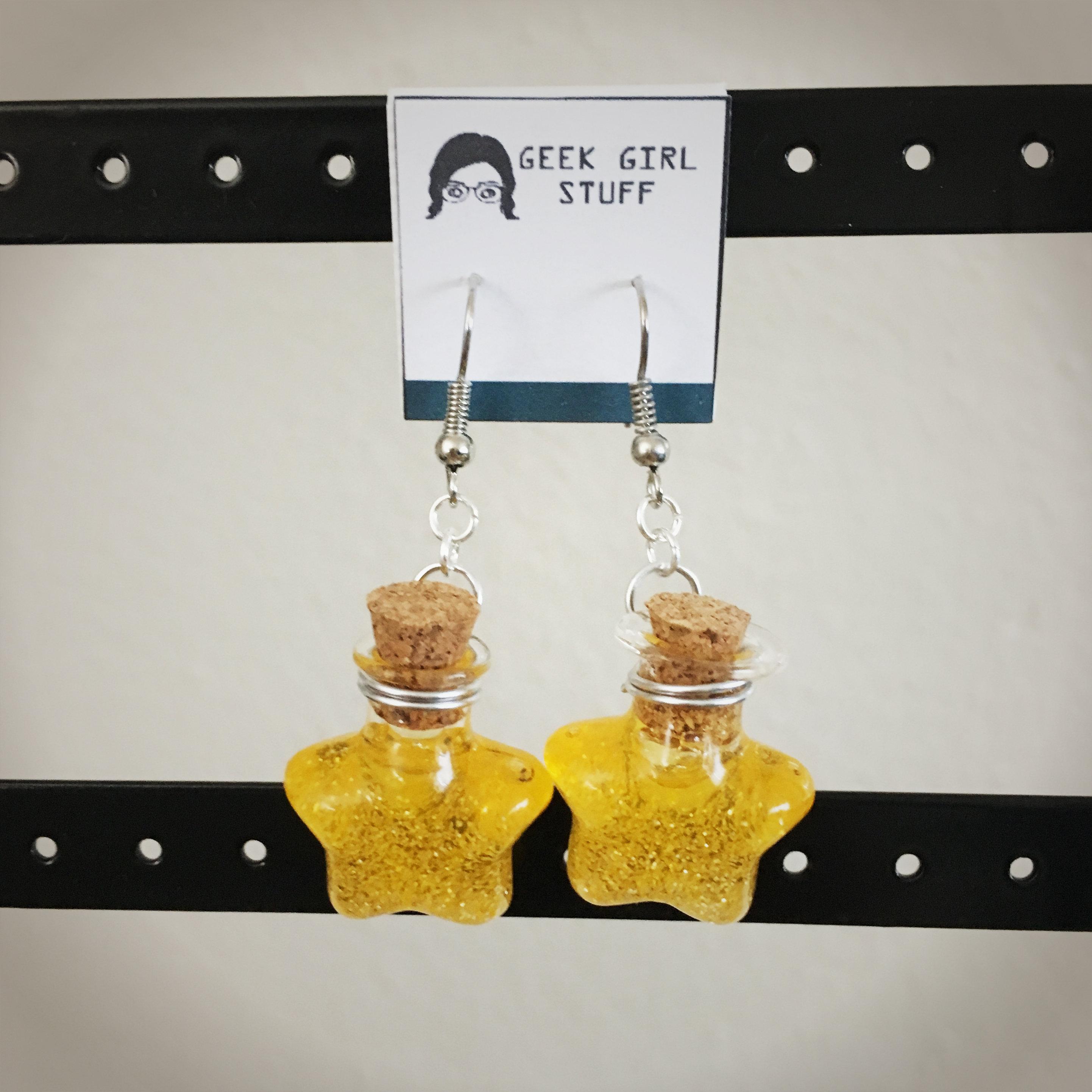 Potion Earrings - Star Potion007