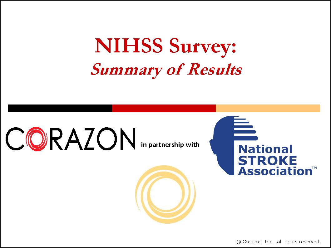 NIHSS Survey Summary 00021