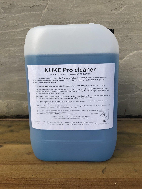 Nuke Pro Exterior Surface Cleaner Ocean Spray