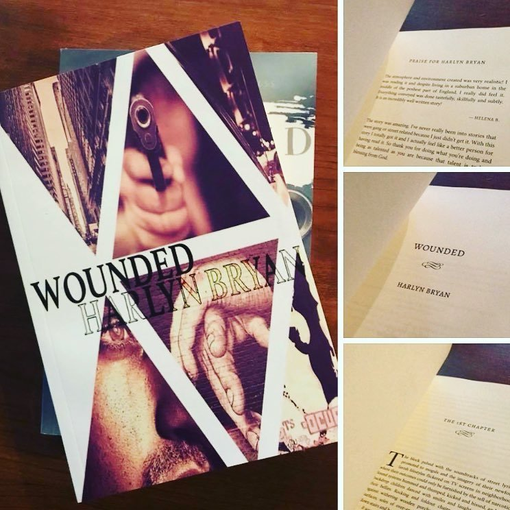 WOUNDED (paperback) 00001