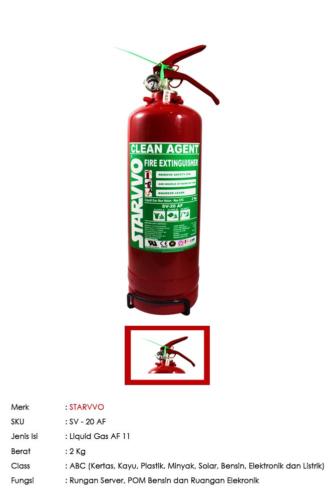 Starvvo Af11 Liquid Gas 2kg