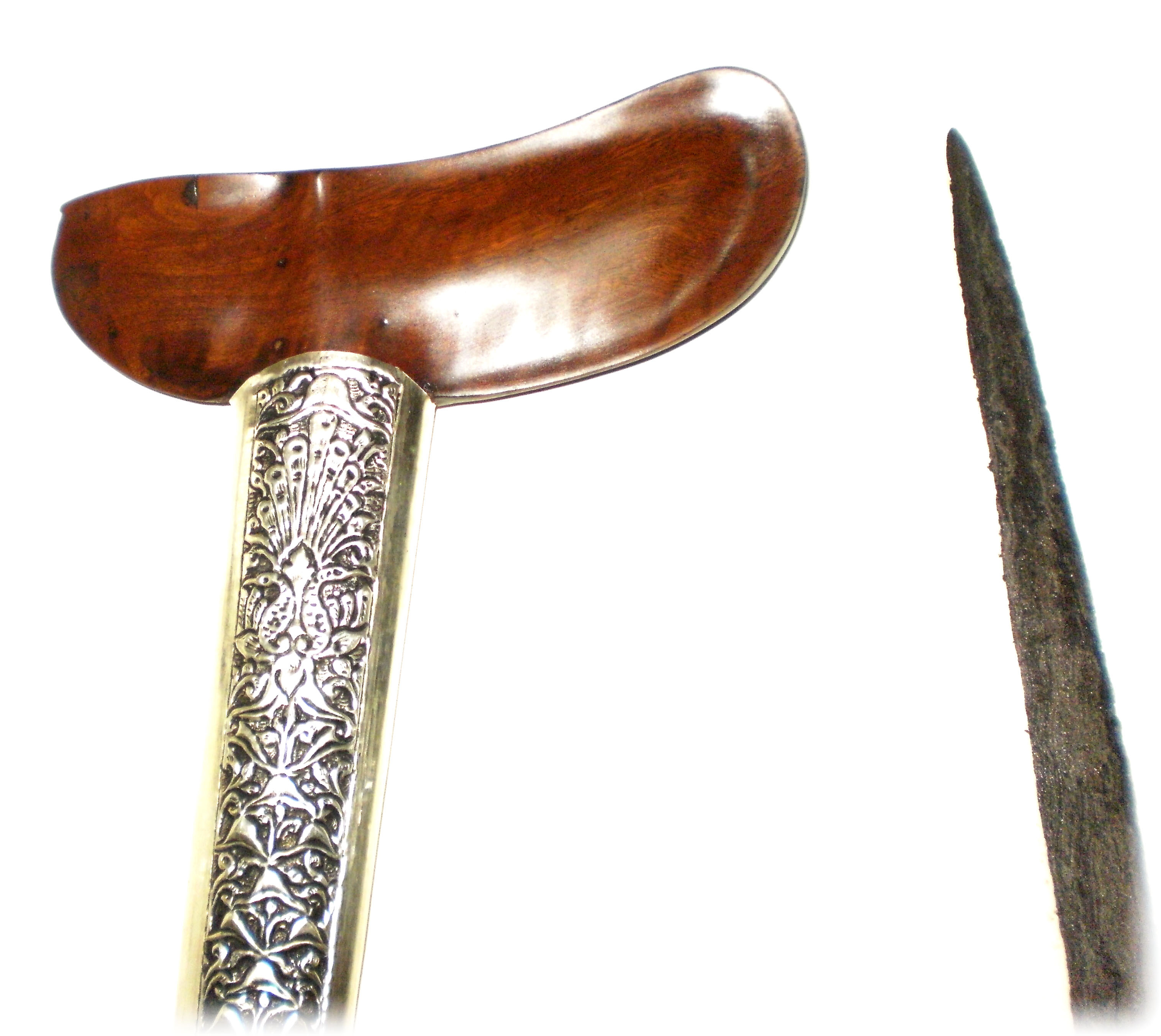 Keris Mahesa Lajer with Silver Pendok and Gayaman Yogya Warangka