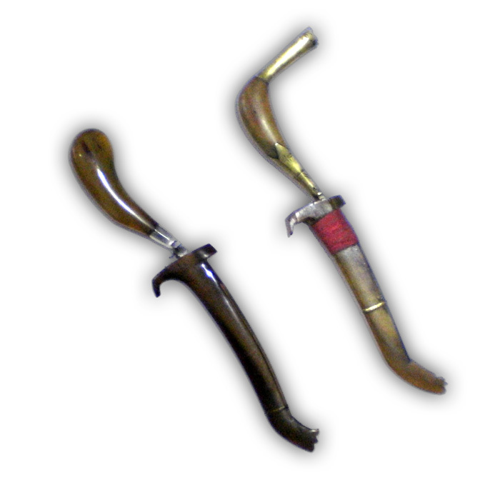 Rencong Pusaka Daggers