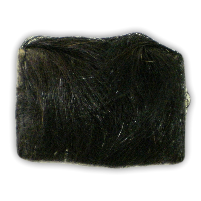 Mysterious Black Goat Fur Amulet
