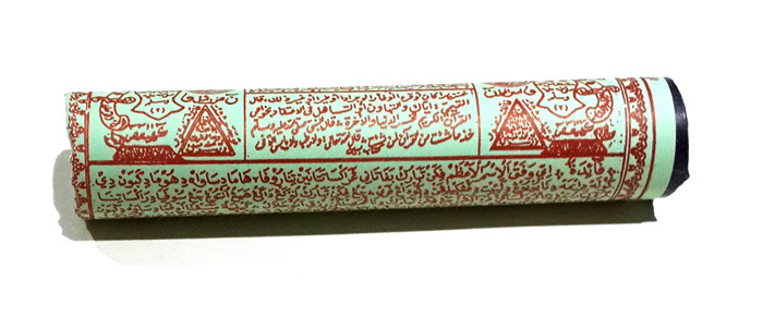 Large Magic Scroll stuffed with Sacred Elements