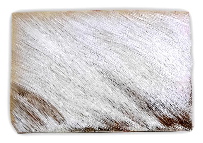White Goat Rawhide Talisman