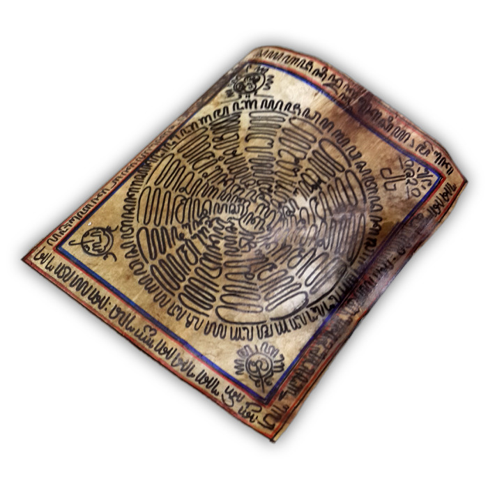 Rajah Kalacakra Amulet