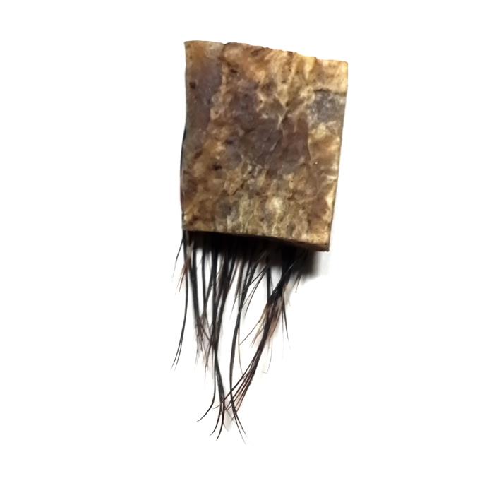 Javanese Buffalo Skin Amulet
