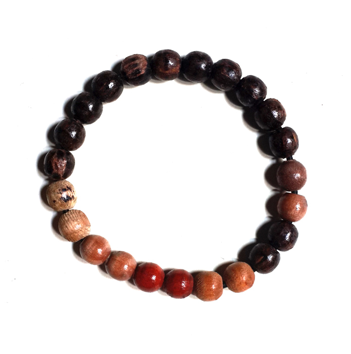 Holy wooden bracelet from Indonesia