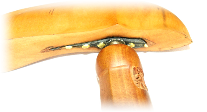 Keris Kalawijan Luk 23 with Gayaman Sheath made from Sandalwood