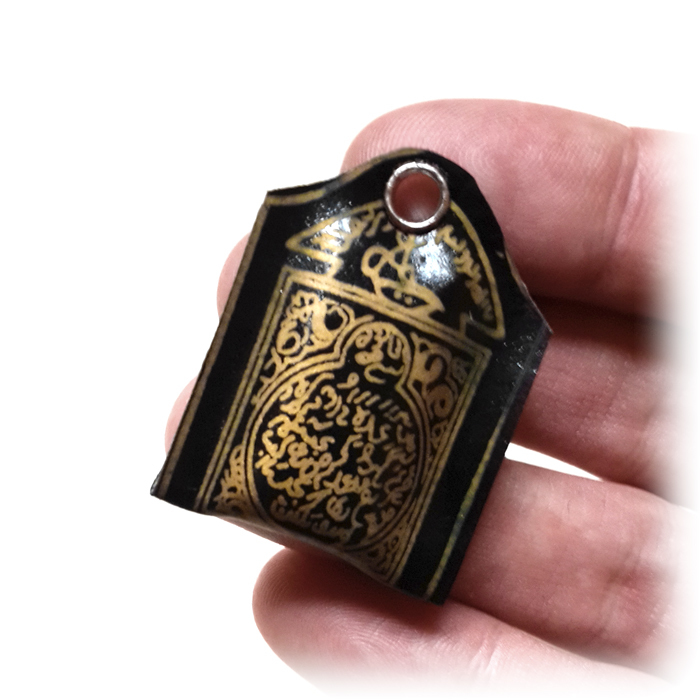 Small Indonesian Esoteric Locket for Improvement of Horoscope and Astrological Alignments