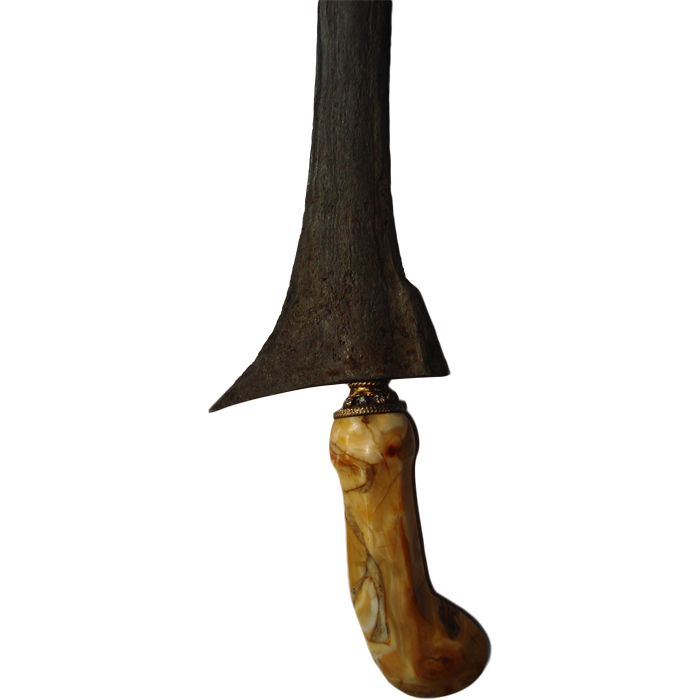 Keris Tilam Upih Ganja Iras from the Tangguh Tuban-Majapahit Era (13th–15th Century CE)