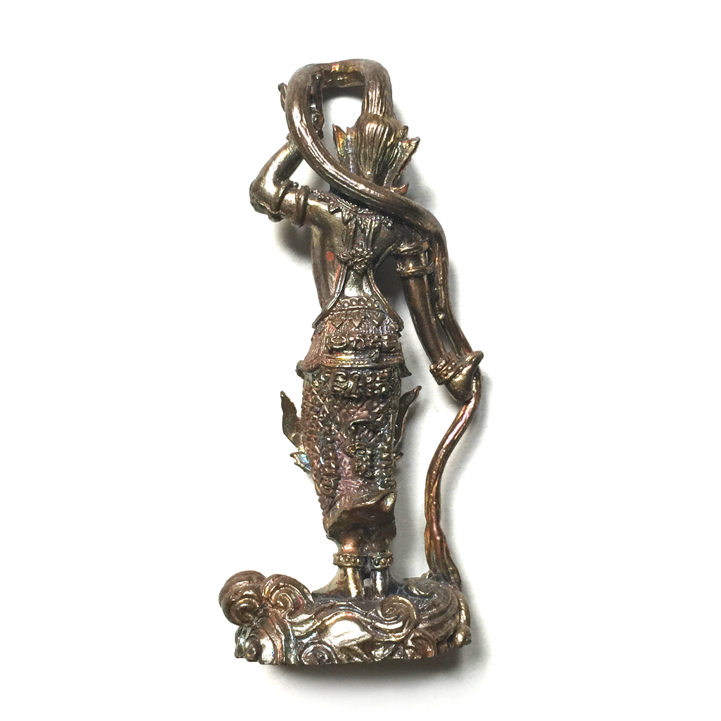Phra Mae Torani Nawa Metal Amulet of the Earth Goddess