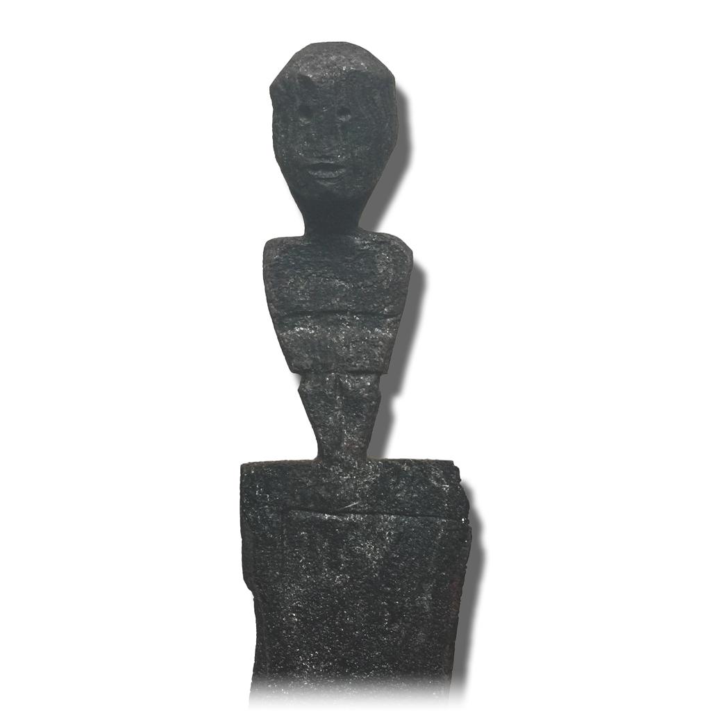 Keris Sajen Hilt with Spirit Figurine