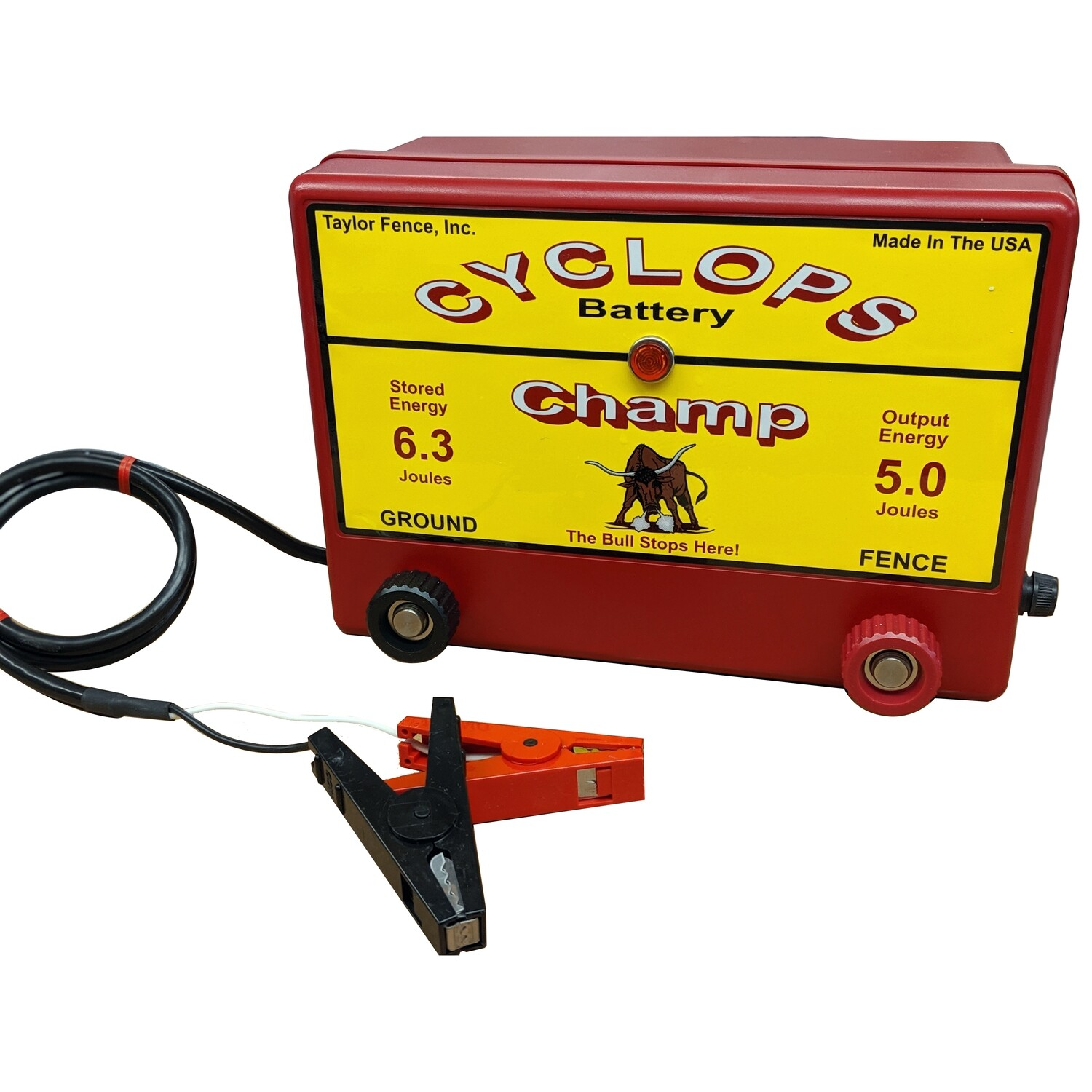Free Shipping Cyclops Champ 12v Battery Dc Powered 5