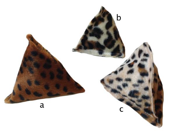 Animal Print Pyramid Bonbon Toys 00169