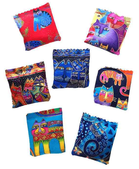 Laurel Burch Grab Bag 3 Squares 00182