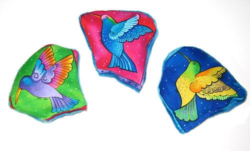 Laurel Burch Hummingbird Cat Toys 00105