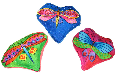 Laurel Burch Dragonfly Cat Toys 00106