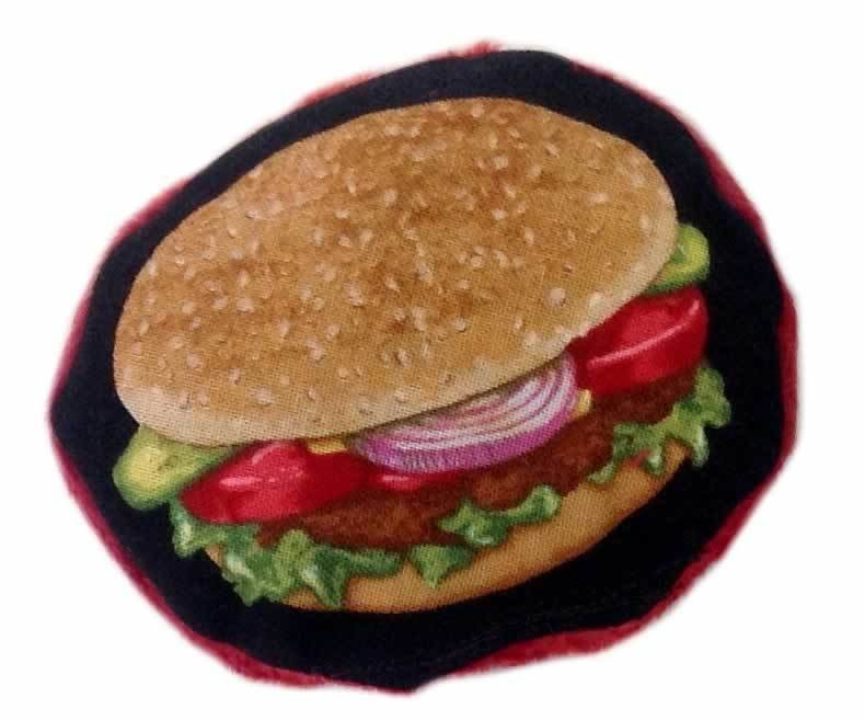 Hamburger Catnip Toy 00192